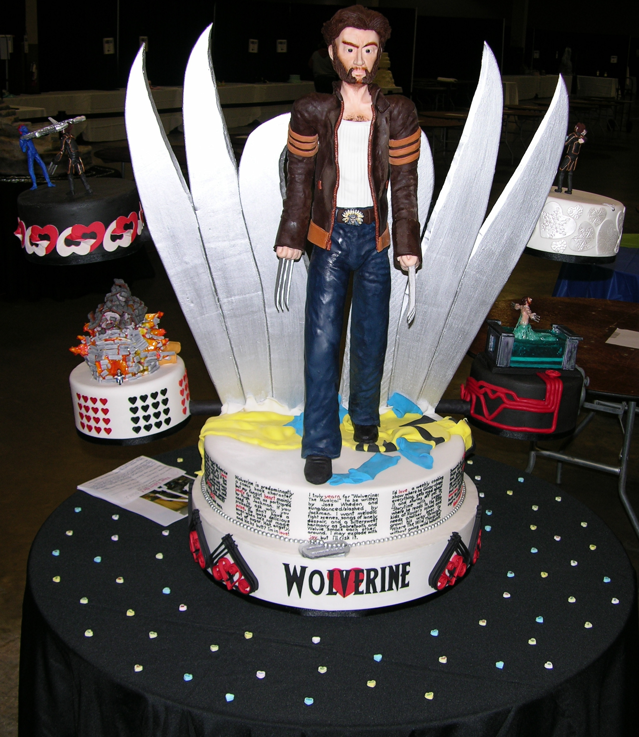 Kimberly Chapman S Cake Decorating Wolverine Fangirl