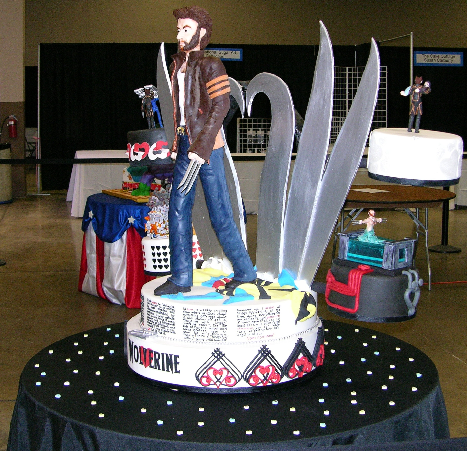 Kimberly Chapman S Cake Decorating Wolverine Fangirl