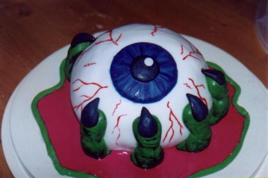 Cake Decoration Eyes : Kimberly Chapman s Cake Decorating - Eyeball in Hand