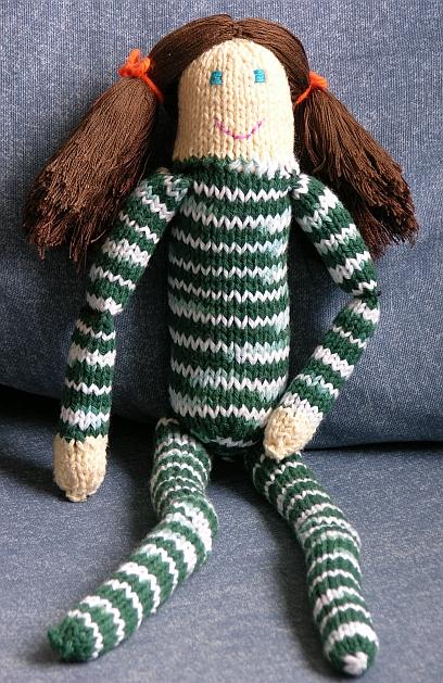Free Knitting Patterns - Dolly - Kimberly Chapmans Knitting