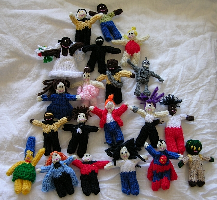 Knitting Patterns For Very Small Dolls : Little Dudes - Kimberly Chapmans Knitting