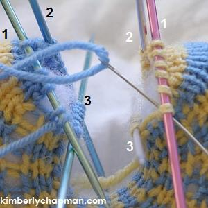 Knitting on Double Pointed Needles | Tin Can Knits