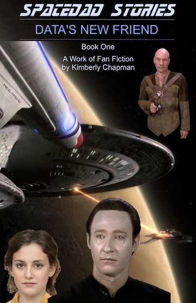 SpaceDad Stories: Book One: Data's New Friend - Cover